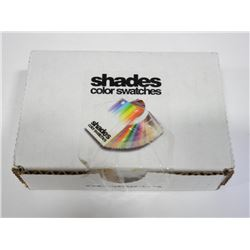 Shades Colour Swatches CMYK Process Guide for Adob