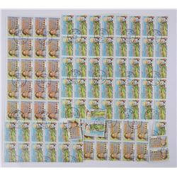 Lot of Stamps 'Republique Togolaise' 60F and 50F.