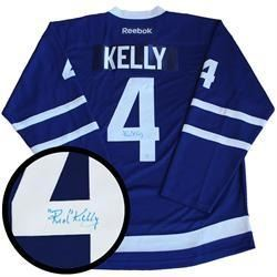 Red Kelly (TML) Jersey Signed with C.O.A.