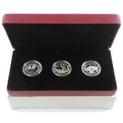 RCM .9999 Fine Silver 3 Coin Set x 20.00 Royal Inf