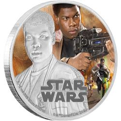STAR WARS .9999 Fine Silver Coin 'The Force Awaken
