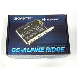 Thunderbolt Gigabyte 40Gb/s Intel, GC Alpine Ridge