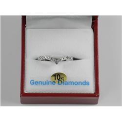 Ladies 10kt Gold Custom Semi Eternity Band .25ct D