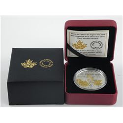 .9999 Fine Silver 5 Cent Coin 'The Two Maple Leave