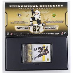 Sidney Crosby - 20 Card Set - Sealed, First NHL Ga