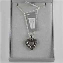 925 Silver Custom Necklace Heart Cut Swarovski Ele