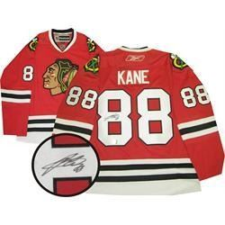 P. Kane (CHI) Jersey Signed with c.o.a. (EXR)