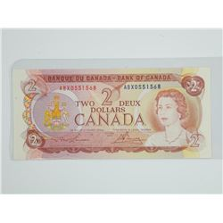 Bank of Canada 1974 - Two Dollar Note. Choice UNC