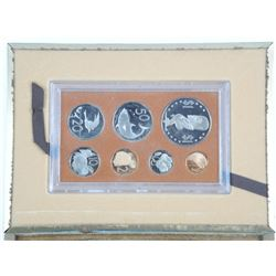 1974 Cook Islands - Proof Coin Set Silver with Ori