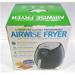 GO WISE USA - Electric Airwise Fryer 7 Built in Pr