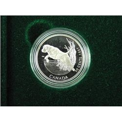 .925 S.S 4-Coin Set, 50 Cents Nature.