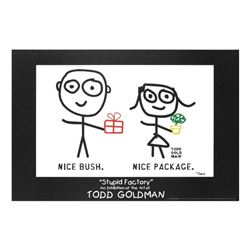 Nice Package! Nice Bush! by Goldman, Todd