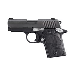 "SIG P938 NIGHTMARE 9MM 6RD 3"" BLK NS"
