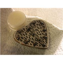 """BELT BUCKLE - HEART WITH SPIKES - ~2 3/4"""" X 2 1/2"""""""