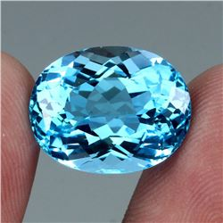 Natural Swiss Blue Topaz 20.69 Cts