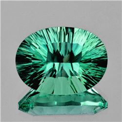 Natural AAA Emerald Green Blue Fluorite 18.35 Ct - Fl