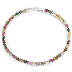 NATURL MULTI COLOR TOURMALINE Bracelet
