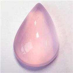 Natural Pastel Pink Rose Quartz 31.15 Ct {Flawless-VVS}