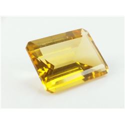 GORGEOUS UNTREATED 14 CT CERTIFIED CITRINE