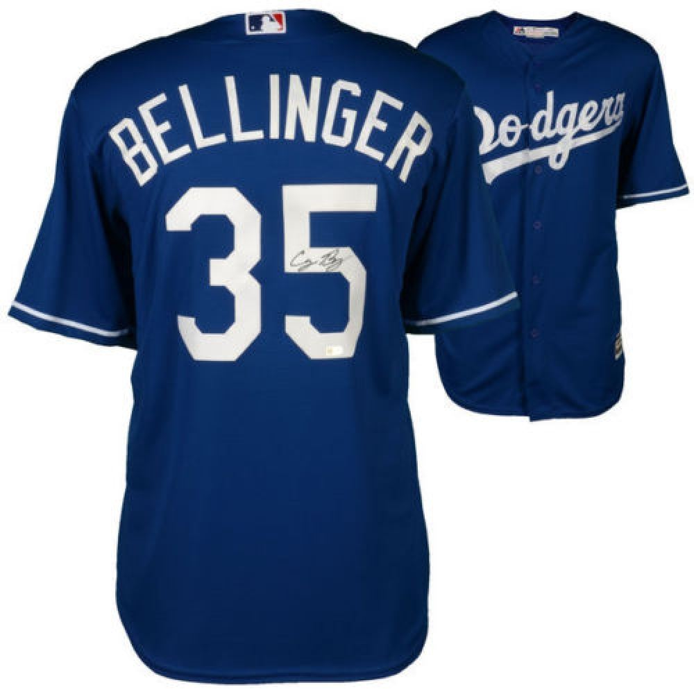 Image 1   Cody Bellinger Signed Dodgers Authentic Majestic Jersey (MLB  Fanatics) 67e2d3d5768