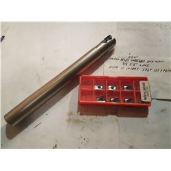 "Indexable End Mill 3/4"" Mitsubishi with Inserts"