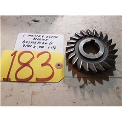 "Butterfield Regrind Milling Cutter 3.900 x .750 x 1""1/4"