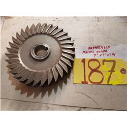 "Butterfield Milling Cutter 7"" x 1"" x 1""1/4"