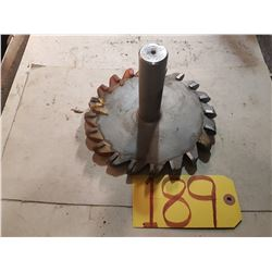 Carbide Tiped Milling Cutter 6""