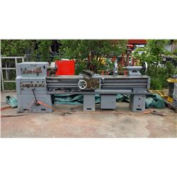 "Lathe 18""x80"" spindle 1""5/8 no motor"