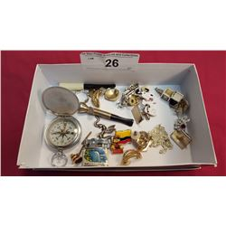 Lot of 26 Misc. Jewelry Pieces