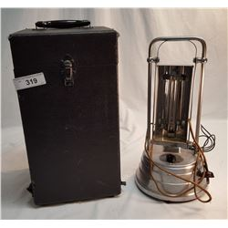 Vintage Ultraviolet Lamp in Case