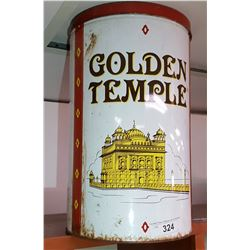Vintage Golden Temple Tin