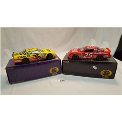 2 Cast Elite Cars in Original Boxes