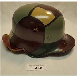 Painted German Helmet