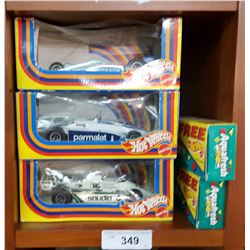 Lot of 5 Vintage 1980's Hot Wheels, All Boxed