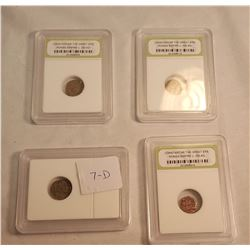 Group of Early Roman Coins