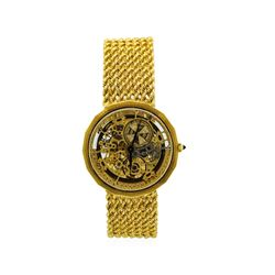 Vintage Vacheron Constantin 18KT Yellow Gold Skeleton Watch