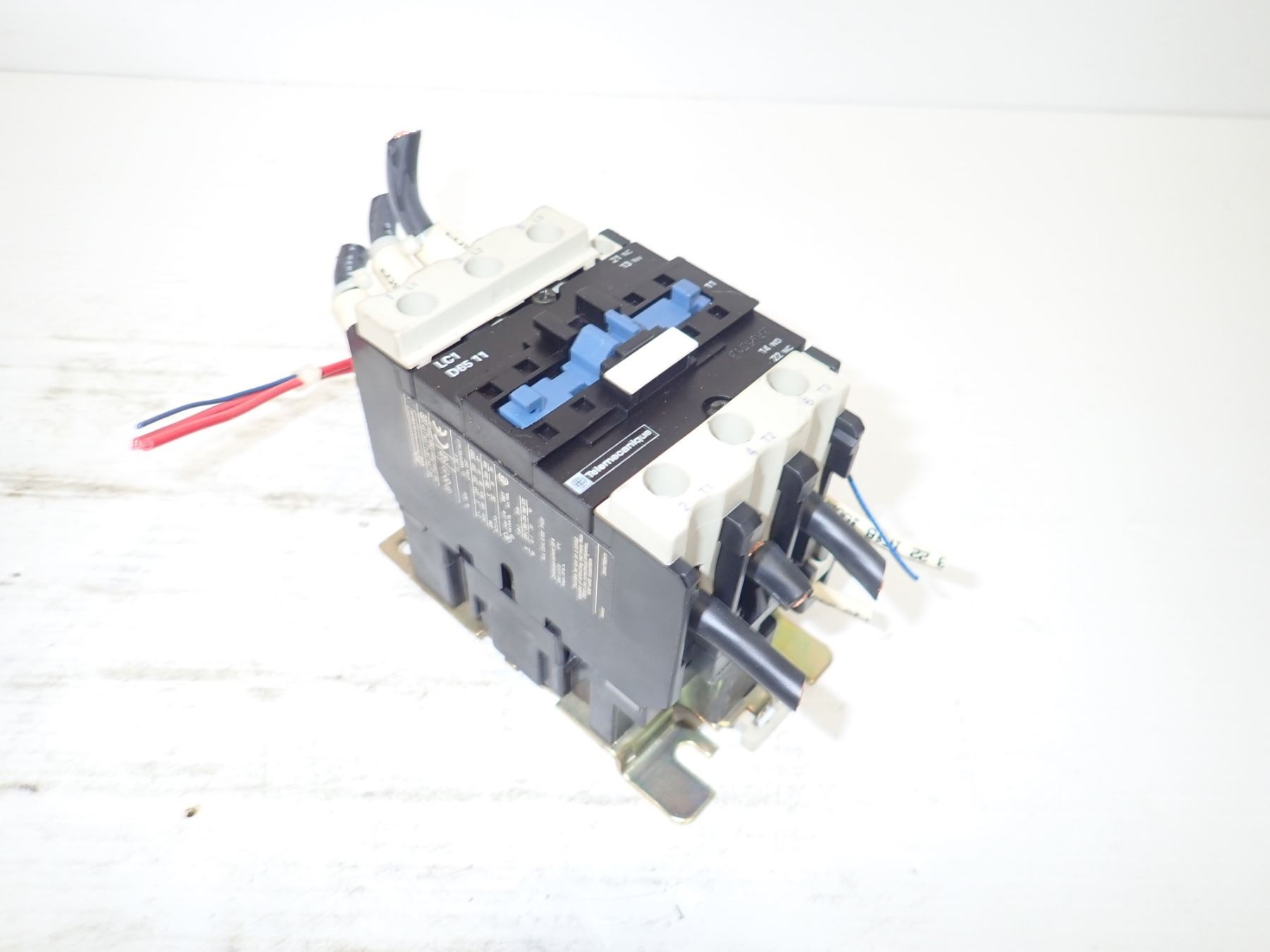 Telemecanique Lc1 D65 11 Contactor Wiring Image 10