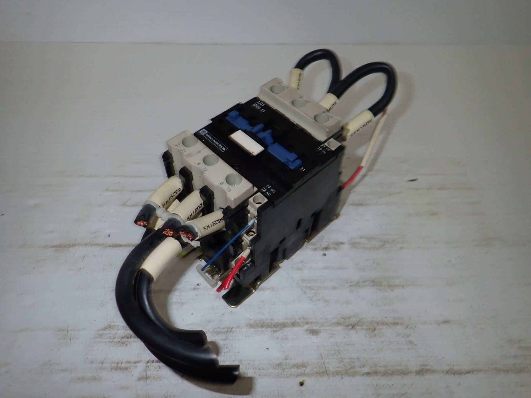 Telemecanique Lc1 D65 11 Contactor Wiring Image 4