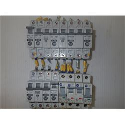 Allen-Bradley Misc. Circuit Breakers *Lot of 16* **See Pics for Part Numbers*