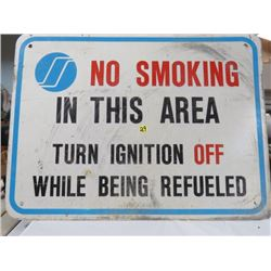 SIGN - NO SMOKING IN THIS AREA