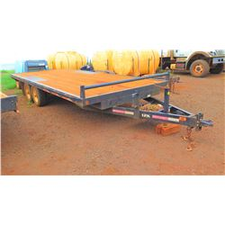 """Flatbed Trailer 12K Dual Axle, Approx. 7'10"""" x 19' 7"""""""