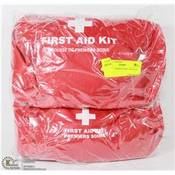 PAIR OF 7 PERSON FIRST AID KITS