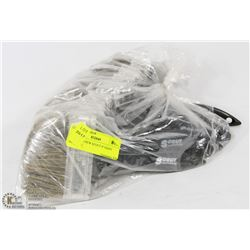 "BAG OF 10 NEW SCOUT 4"" PAINT BRUSHES"