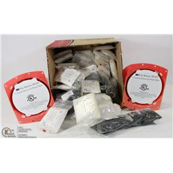 """BOX OF 3M 3"""" CAST IN DEVICE FOR PLASTIC PIPES"""