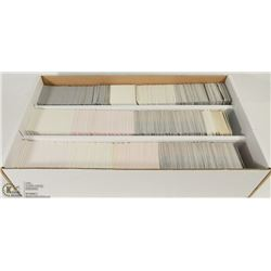 BOX OF NHL HOCKEY CARDS - APPROX 3000 CARDS