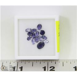 231) GENUINE IOLITES, 2.5-5MM OVALS, APPROX