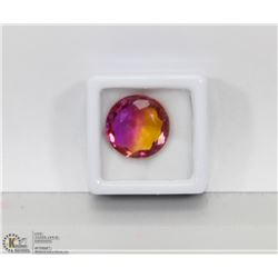 #40-MULTI-COLOR TOURMALINE ROUND SHAPE 12.5CT