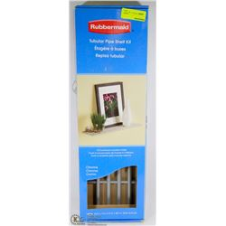 RUBBERMAID TUBULAR PIPE SHELF KIT