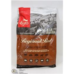 5.4KG BAG OF ORIJEN REGIONAL RED GRAIN FREE